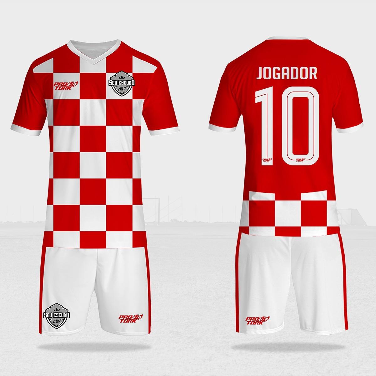 a99d9841d camisa de time personalizada 10un futebol ou futsal. Carregando zoom.
