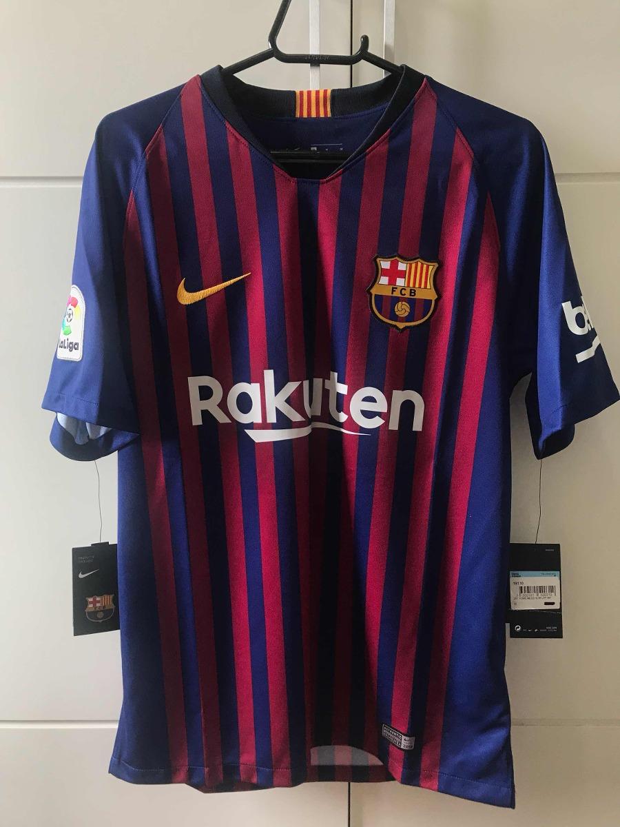55d18fd27ad80 camisa de torcedor do fc barcelona 2018 19 - oficial. Carregando zoom.