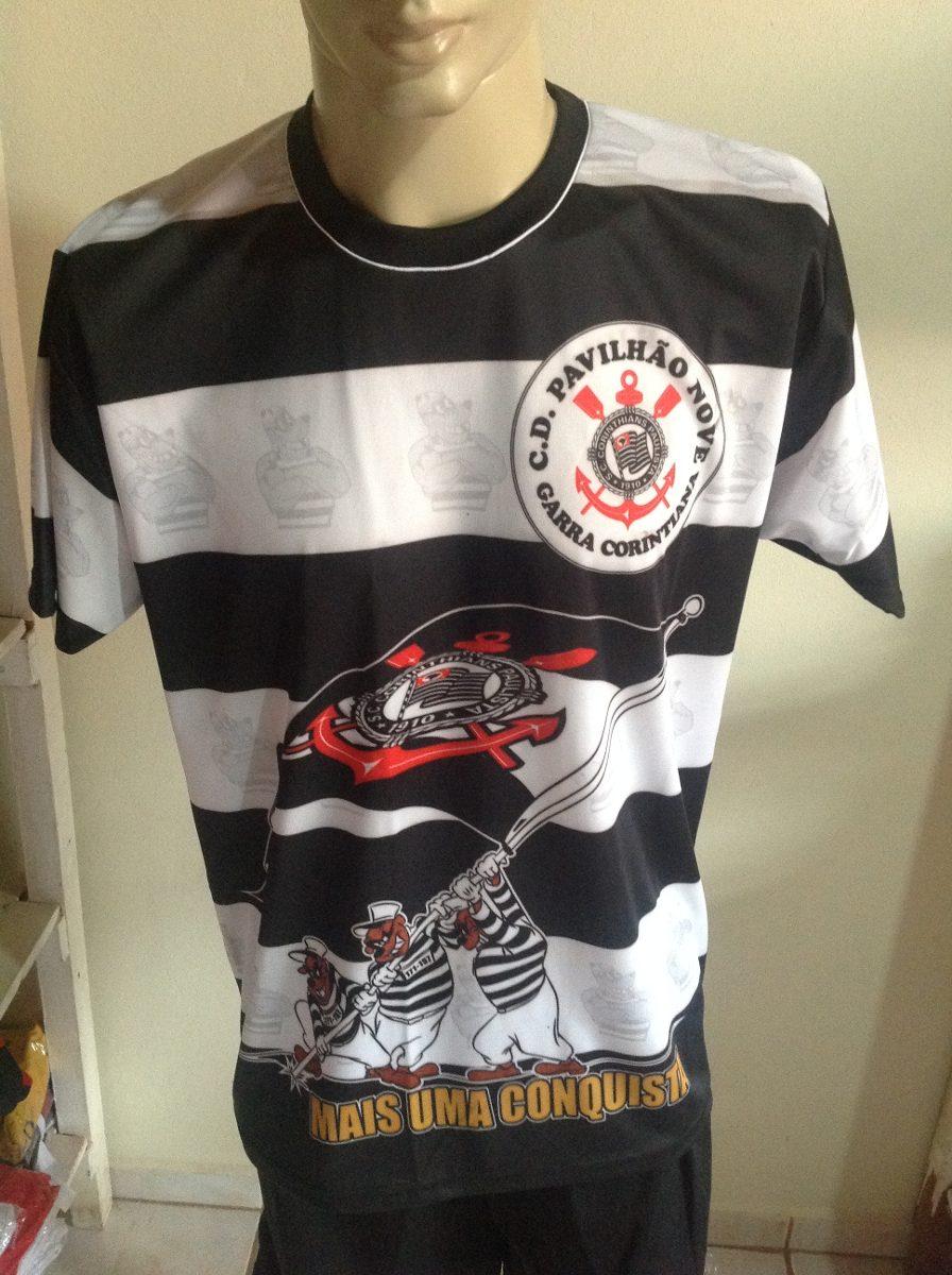 6673c30ad284eb Camisa De Torcida Corinthians - R$ 19,99 em Mercado Livre
