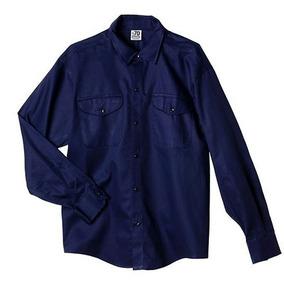 Mayor Camisa 12 Trabajo Marino Por Prendas De Azul rCxoedBW