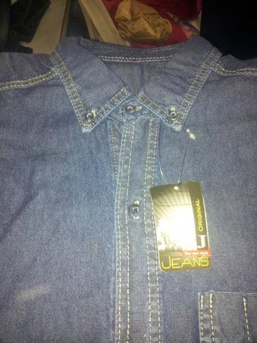 camisa de trabajo semi industrial liviana 7.5 onz