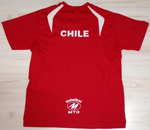 camisa de treino da seleção do chile - mto - tam g vôlei