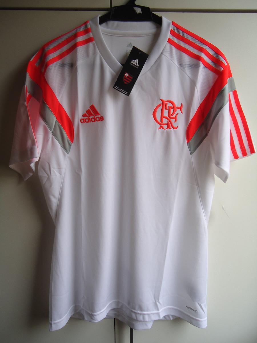 8375dc89ba3a7 Camisa De Treino Do Flamengo 2014 - adidas - Nova - Tam. M - R  89 ...