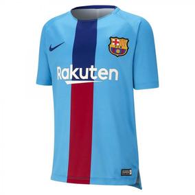 a2c5246181 Camisa De Treino Do Barcelona Infantil - Camisas de Futebol no Mercado  Livre Brasil