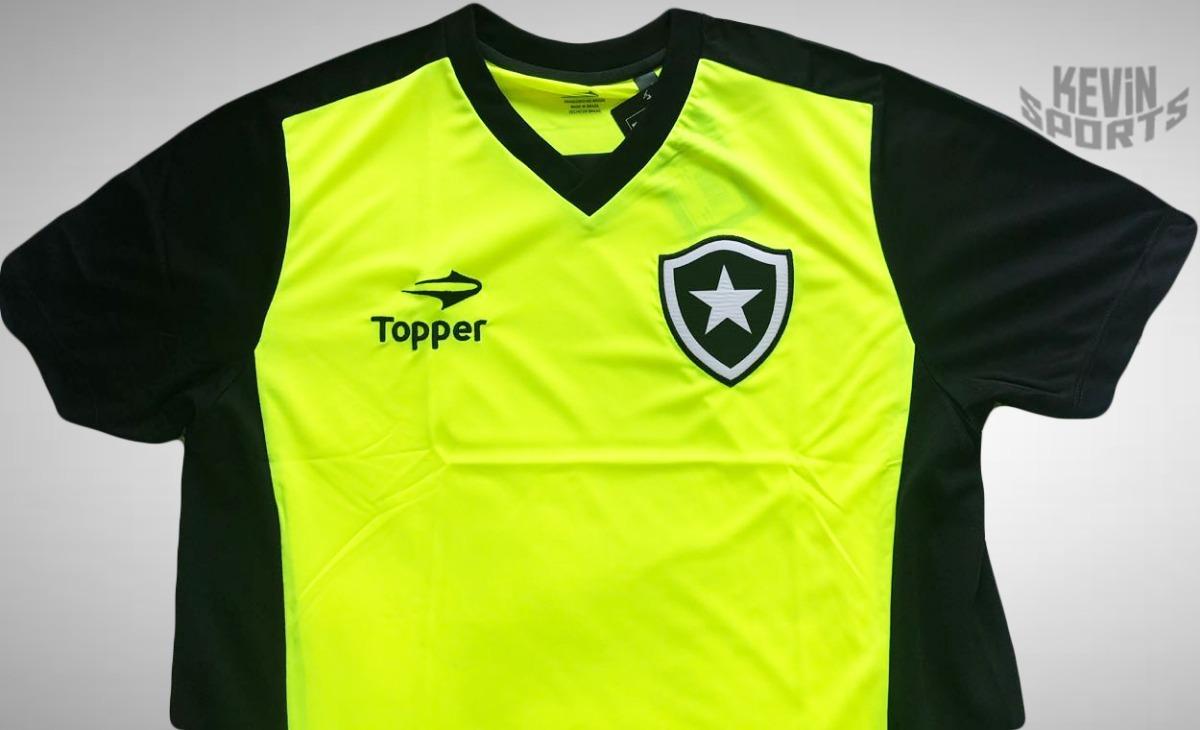 Camisa De Treino Original Botafogo Topper + Boné Puma - R  139 122d86ba58f3a