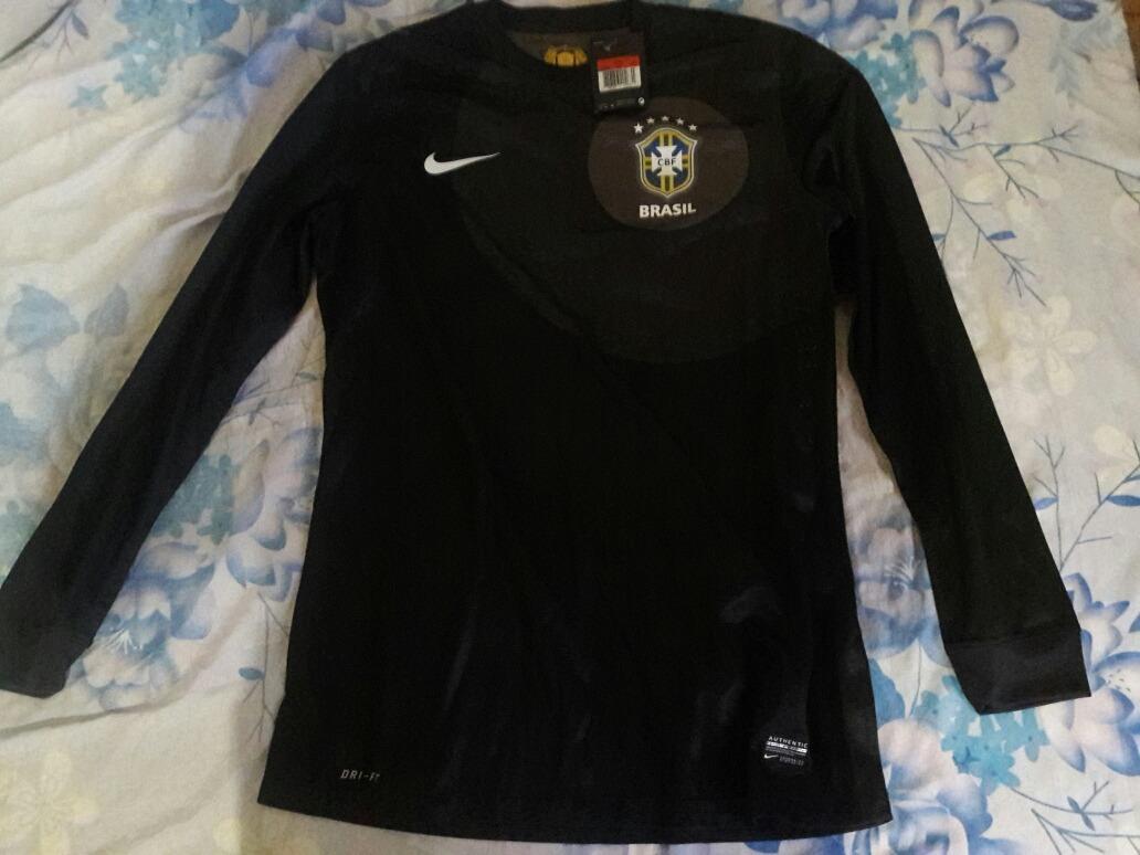 4cd1e25efaa24 camisa de treino original manga longa seleção brasileira. Carregando zoom.