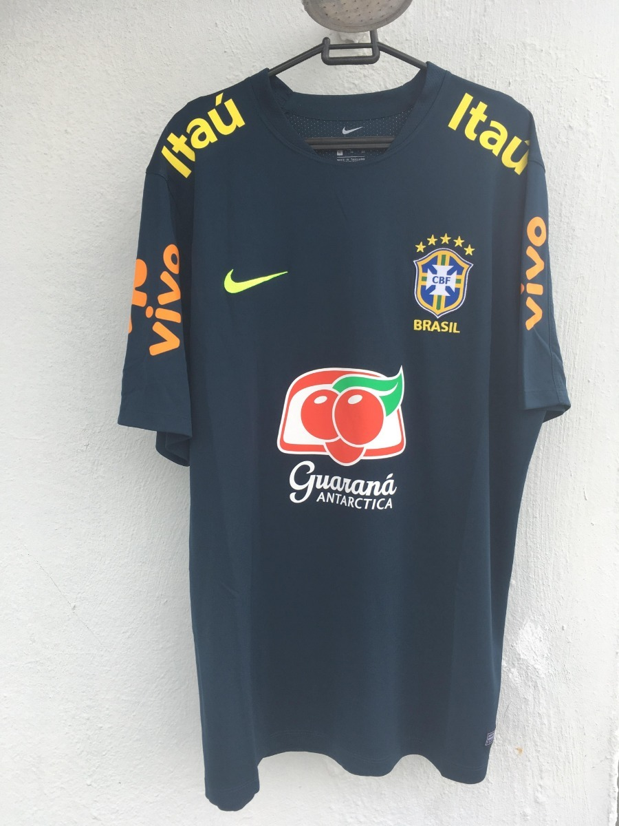 Camisa De Treino Seleção Brasileira Gg Nova - R  170 5fbf755750fcc