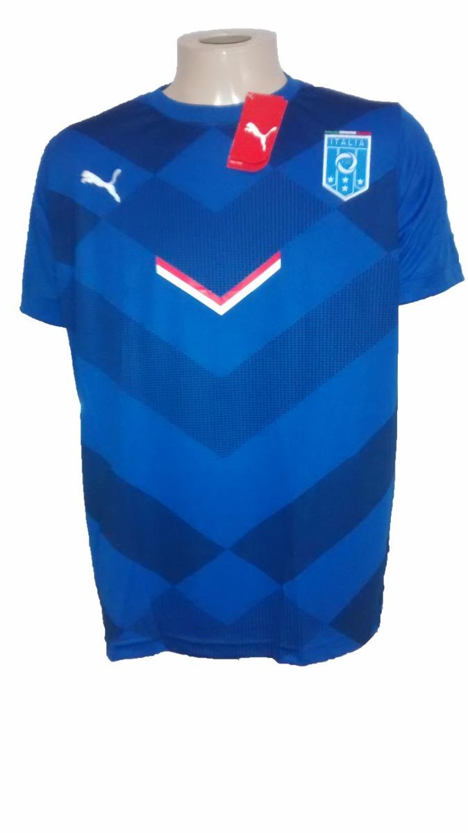camisa de treino seleção italia 2015 puma. Carregando zoom. fcb3faeb73291