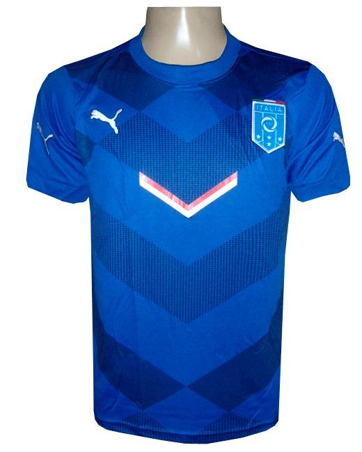 Camisa De Treino Seleção Itália Azul - R  79 3f74abb7ca97e