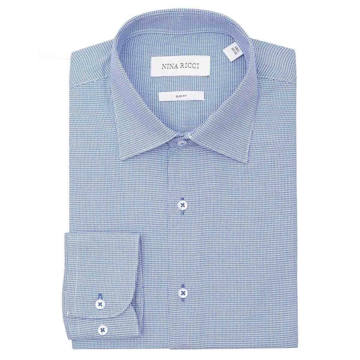 5179f50a290f7 Camisa de vestir con rayas en color azul nina ricci mlm jpg 1200x1200 Cstradha  camisas blancas