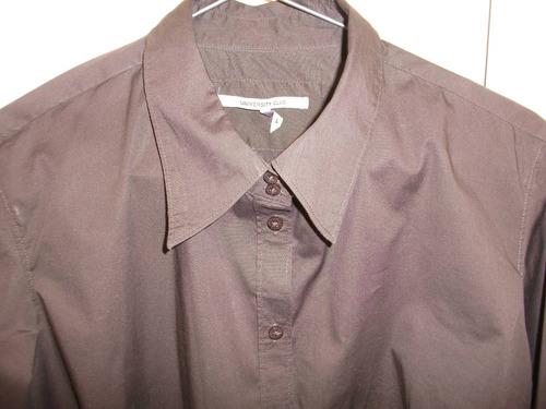 camisa de vestir de marca sin uso