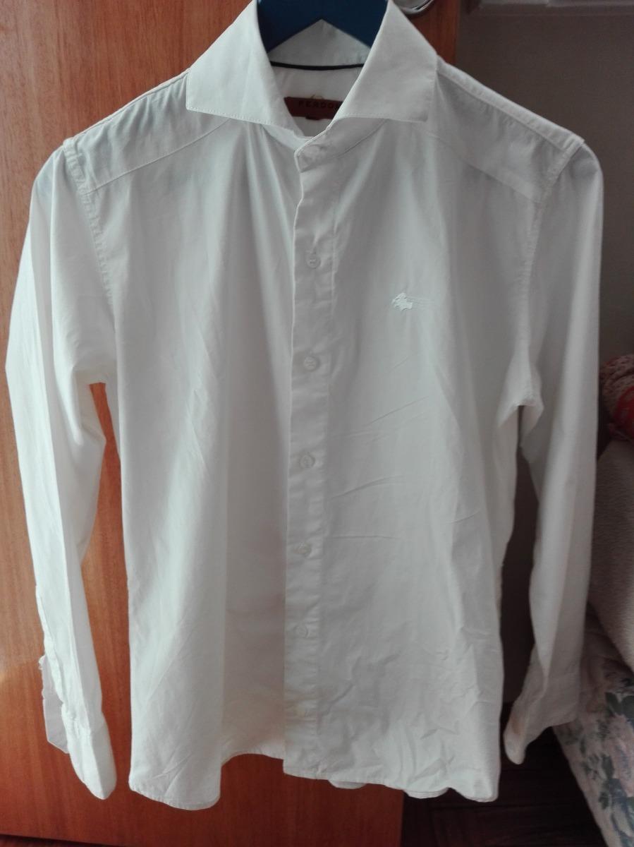 camisa de vestir hombre perdomo blanca s impoluta. Cargando zoom. b12e601dbe1