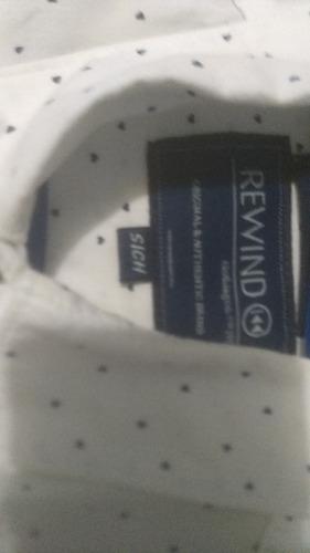 camisa de vestir hombre talla s/chica
