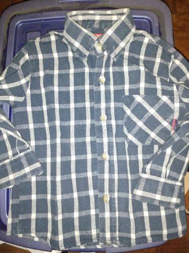 camisa de vestir manga larga talle 18m  casi sin uso envios