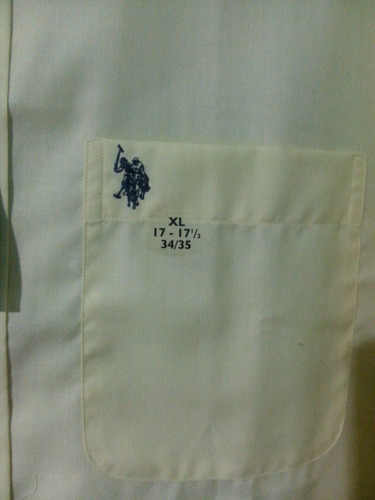camisa de vestir nueva wrinkle marca u.s. polo assn talla xl