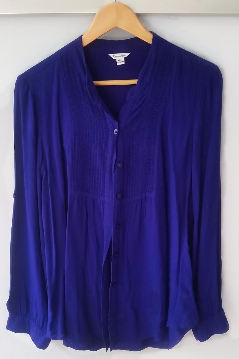 Camisa De Vestir Para Dama Calvin Klein Ck - $ 499.00 en Mercado Libre