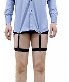 Hombre Para Jelinda Estancias Pierna Camisa Ligas De Vestir ZiPukX