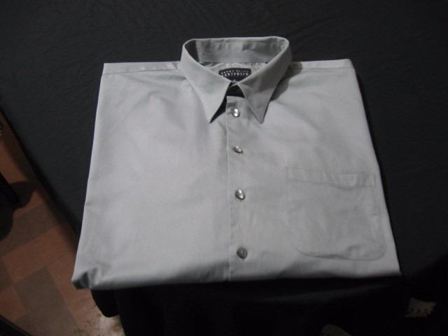 b2b384075 Camisa De Vestir Perry Ellis Talla Xxl(18)(34-35) Color Gris ...