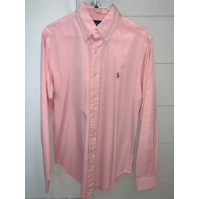 Camisa De Vestir Polo Ralph Lauren Rosa