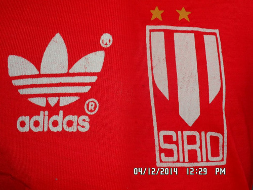 camisa de volei do esporte clube sirio n#15 anos 80 de jogo