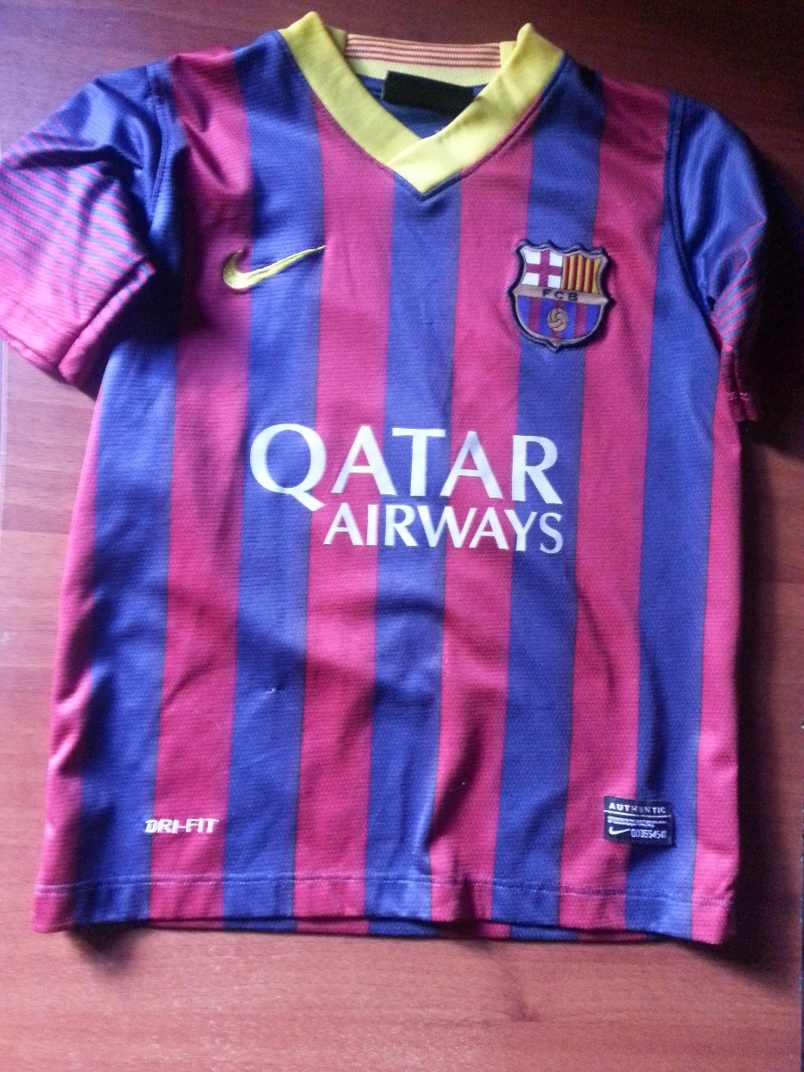 Del 00 Messi Para Niño Camisa Barcelona Nike Bs137 6 000 Original Talla iuPXTkZO