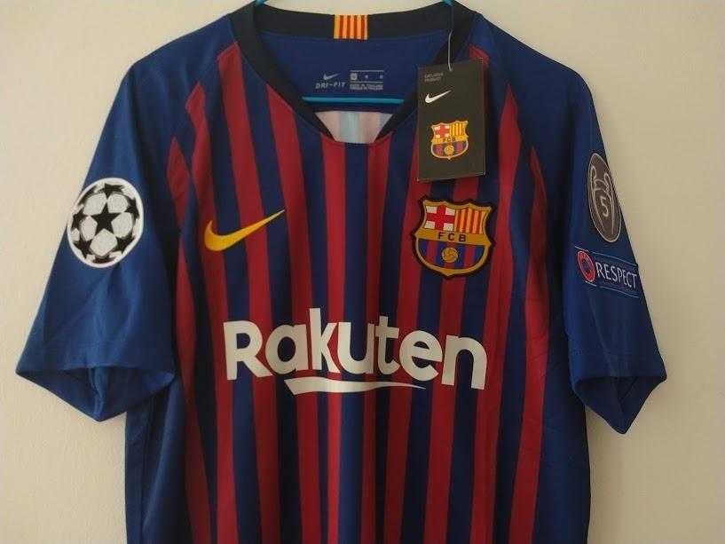 c47bb6259 camisa del fc barcelona 18 19. Cargando zoom.