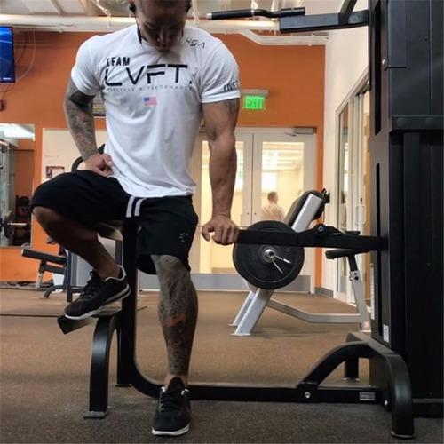 camisa del gym marca lvft original, camiseta apretada.
