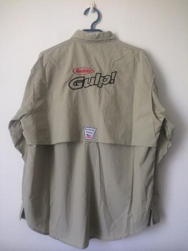 camisa deportiva berkley para pesca, berkley
