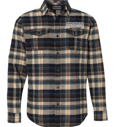 camisa d/franela throttle threads parts unli hombre caqu 3xl