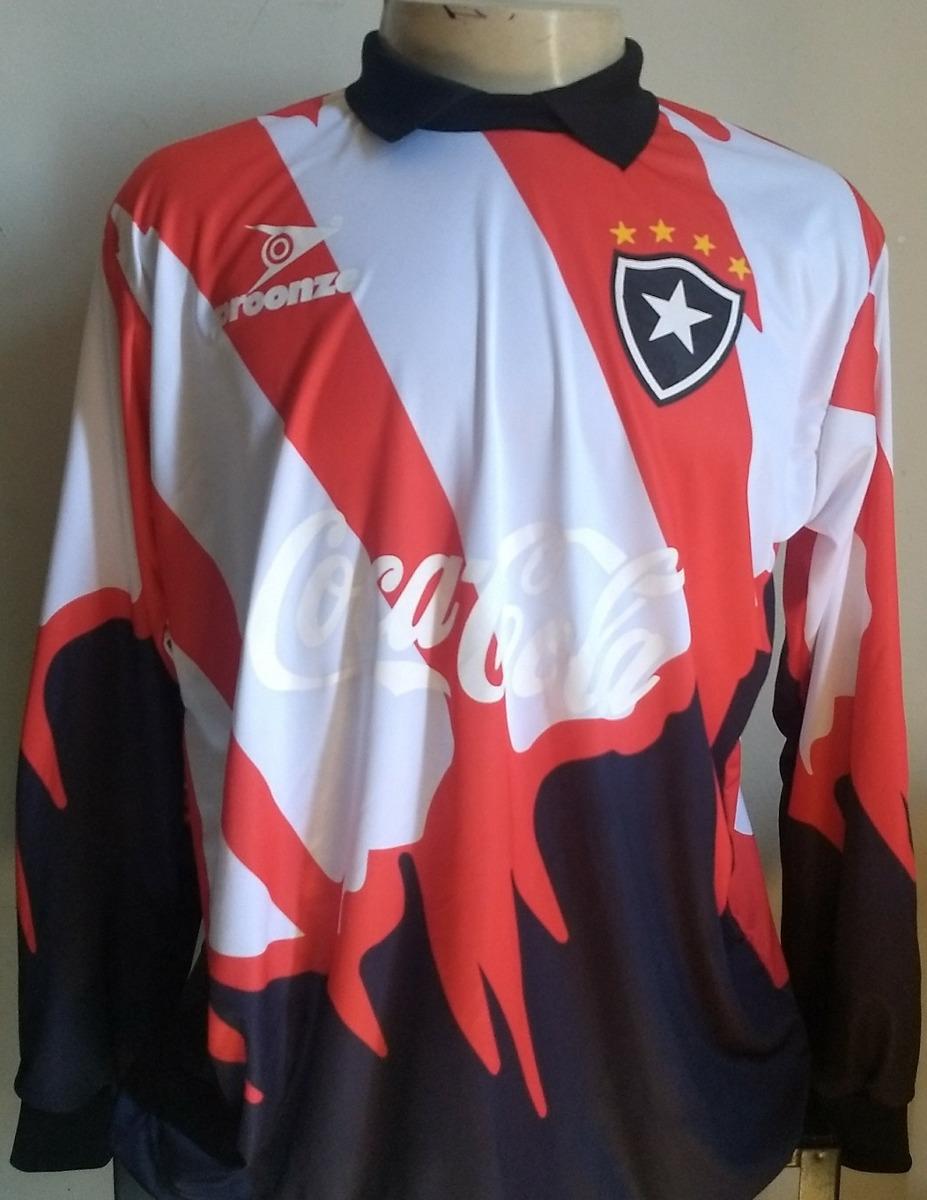 0591ada54 Camisa di retrô goleiro botafogo conmebol carregando zoom jpg 927x1200 Retro  camisetas de goleiro