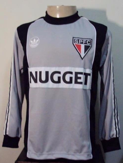 Camisa Di Retrô Goleiro São Paulo adidas nugget - R  149 52f9c4e4a1390