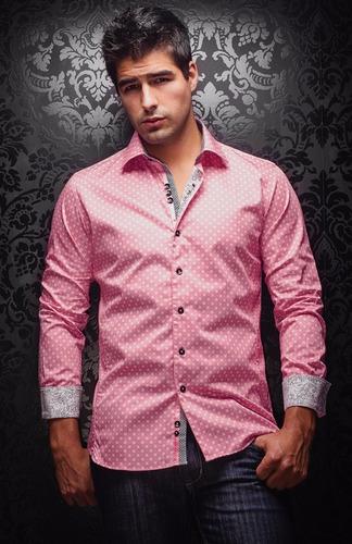 camisa diseñador frances slim fit