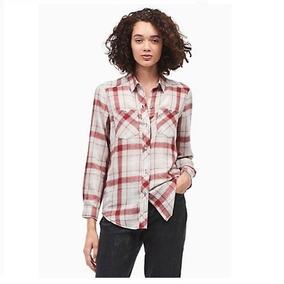2e719b25db9d Camisa A Cuadro De Dama - Camisas de Mujer en Mercado Libre Uruguay