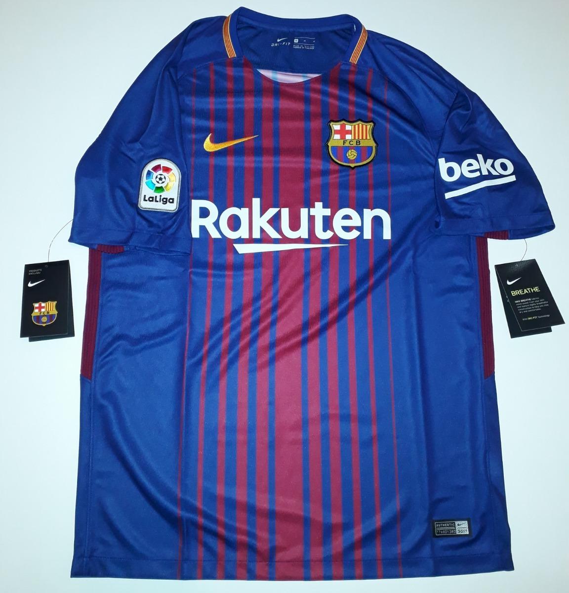 6771fb0f04 camisa do barcelona 2018 listrada original nike - 88. Carregando zoom.