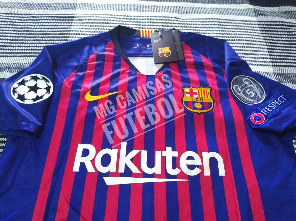 99cf532cf8 camisa do barcelona 2018/2019 original champions- f.grts. Carregando zoom.