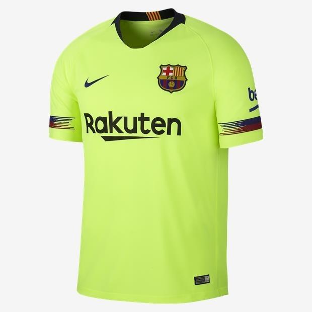 Camisa Do Barcelona Amarelo 18 19 - Frete Grátis - R  189 b0c09c683e894