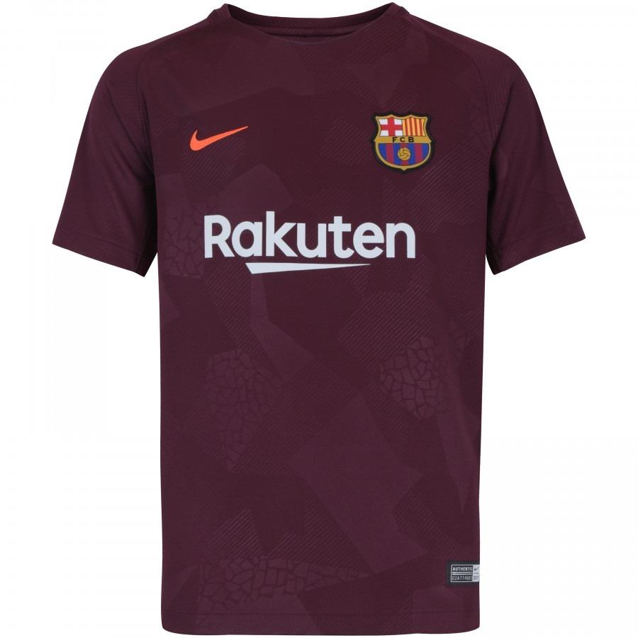 1c952a6896 Camisa Do Barcelona Barça Azul Vermelha Nova Lançamento Time - R ...