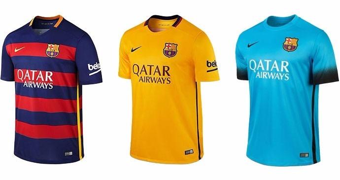 da81f50875 Camisa Do Barcelona Neymar Messi Modelo 2016 Frete Gratis - R  94