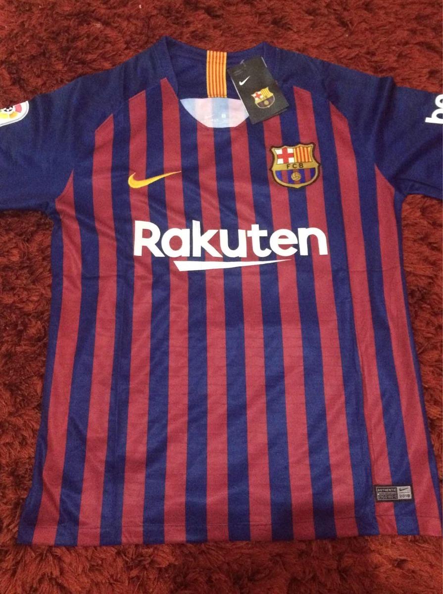 862f43d677 camisa do barcelona oficial lançamento 2018 2019. Carregando zoom.