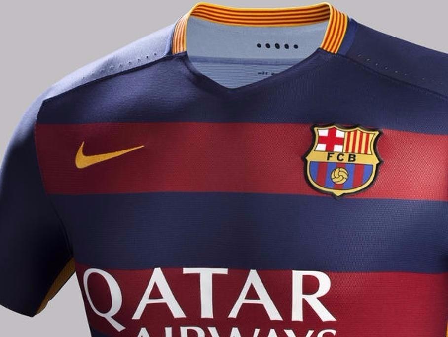 6ed8cf5c5f4ca camisa do barcelona original 2015 2016 promoçao. Carregando zoom.