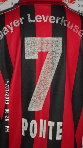 camisa do bayer leverkusen n#7