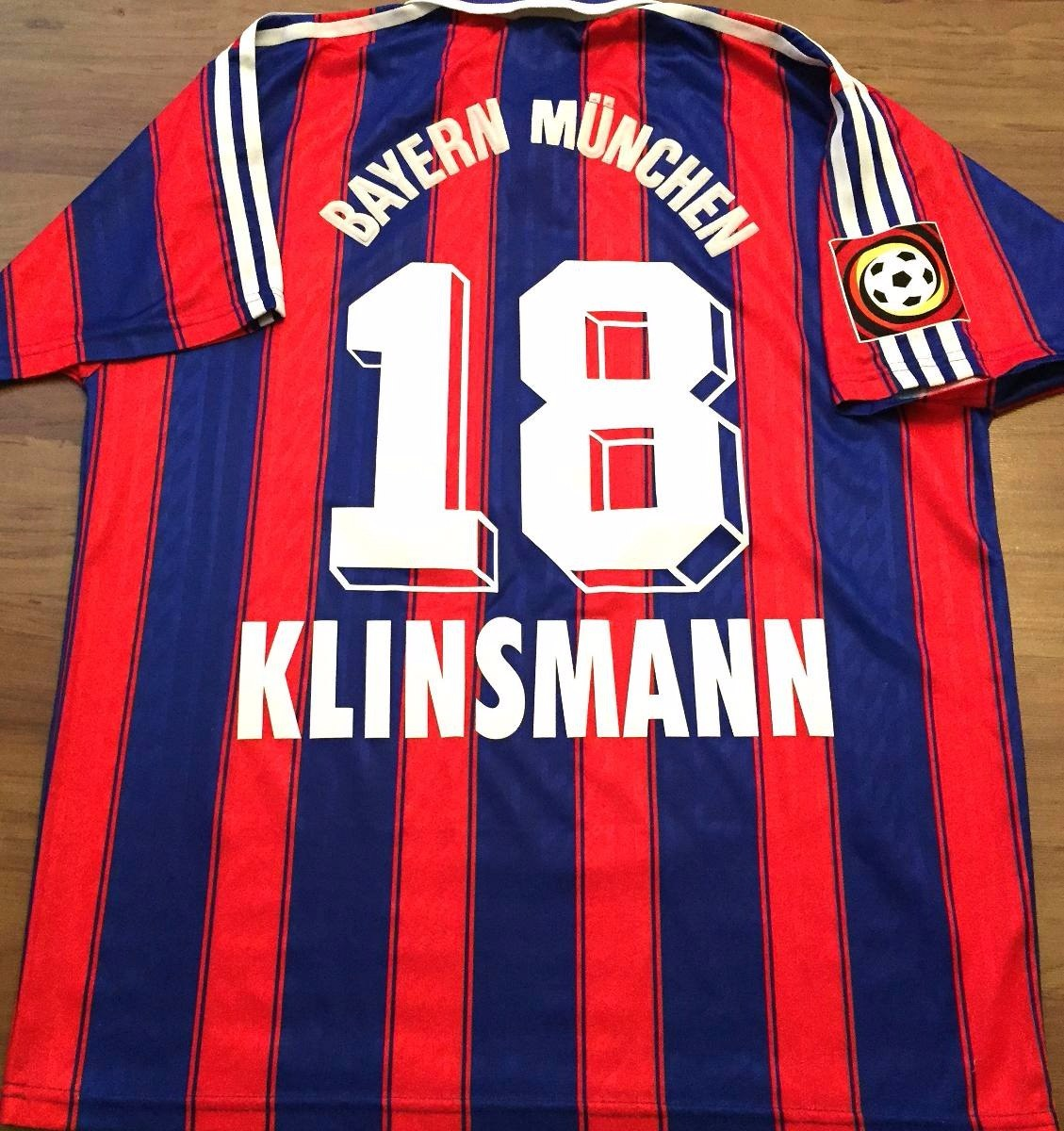 camisa do bayern munique 1995 96 kinsmann 18 bundesliga rara. Carregando  zoom. da18be4647738