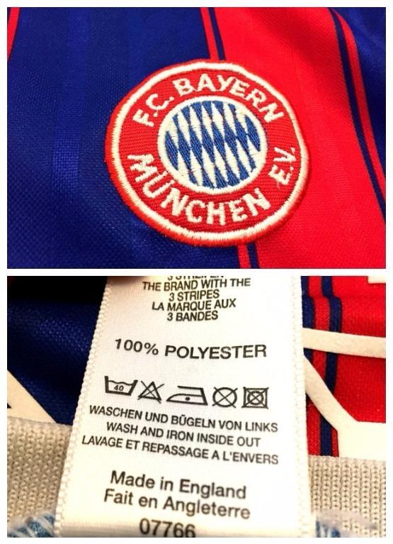 Camisa Do Bayern Munique 1995 96 Kinsmann 18 Bundesliga Rara - R ... 3d4d35e14eef8
