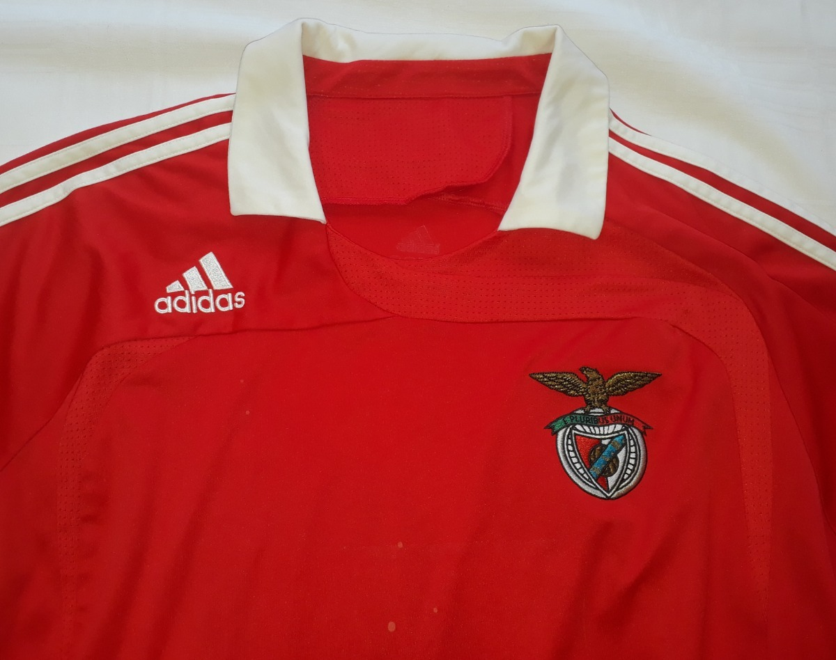 camisa do benfica de portugal original adidas 2007 - 01. Carregando zoom. ed968ae09ffe7