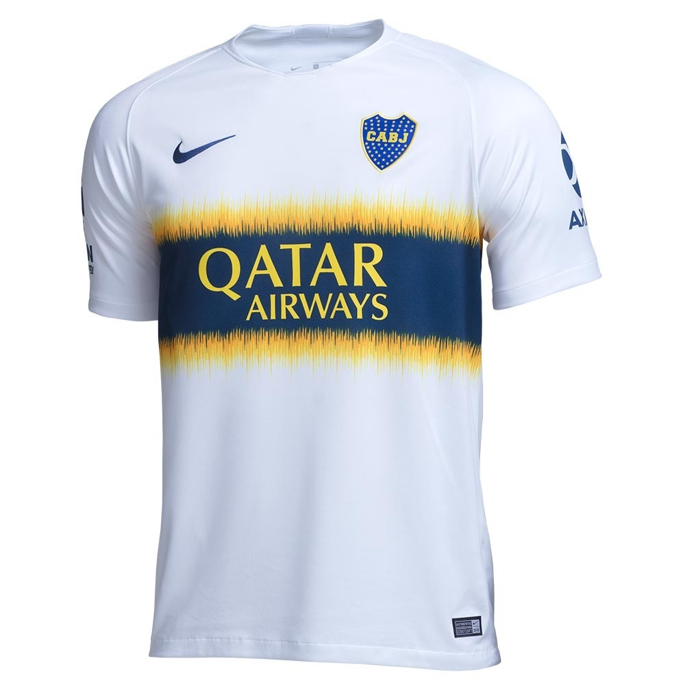 camisa do boca juniors branca 18 19 - frete grátis. Carregando zoom. 9e50416d58ec9