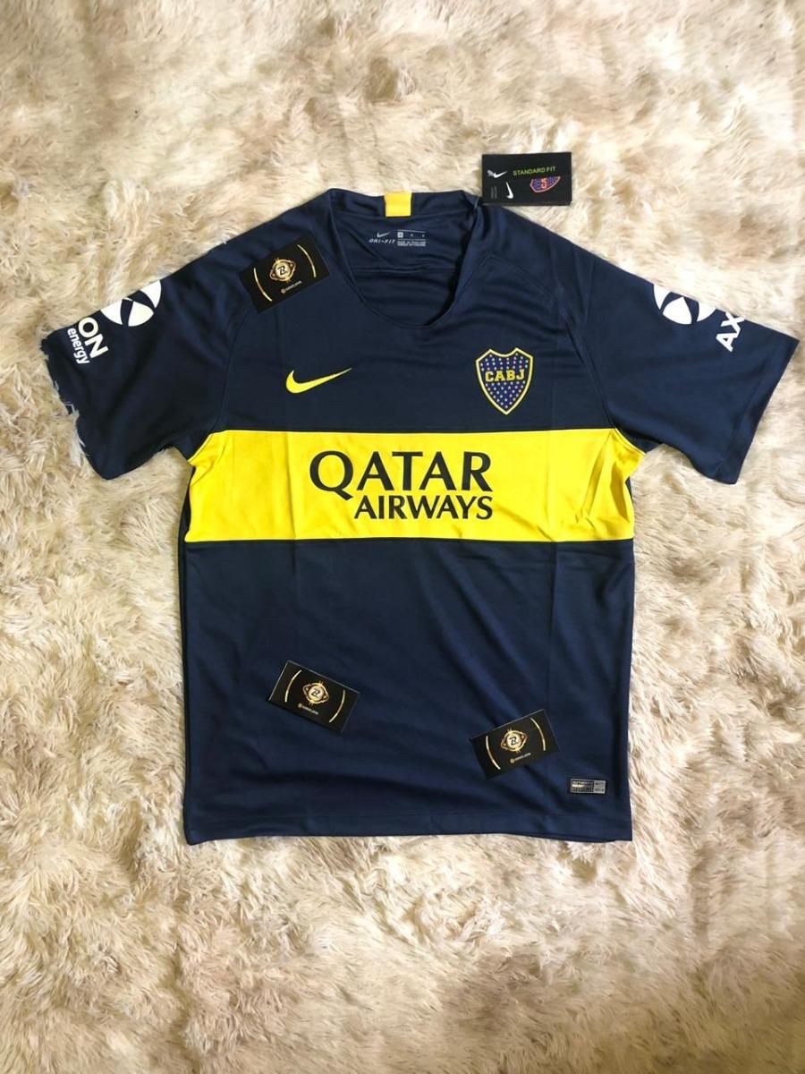 uk availability aeacf a3d8b Camisa Do Boca Juniors Original Nova - Uniforme 1 E 2