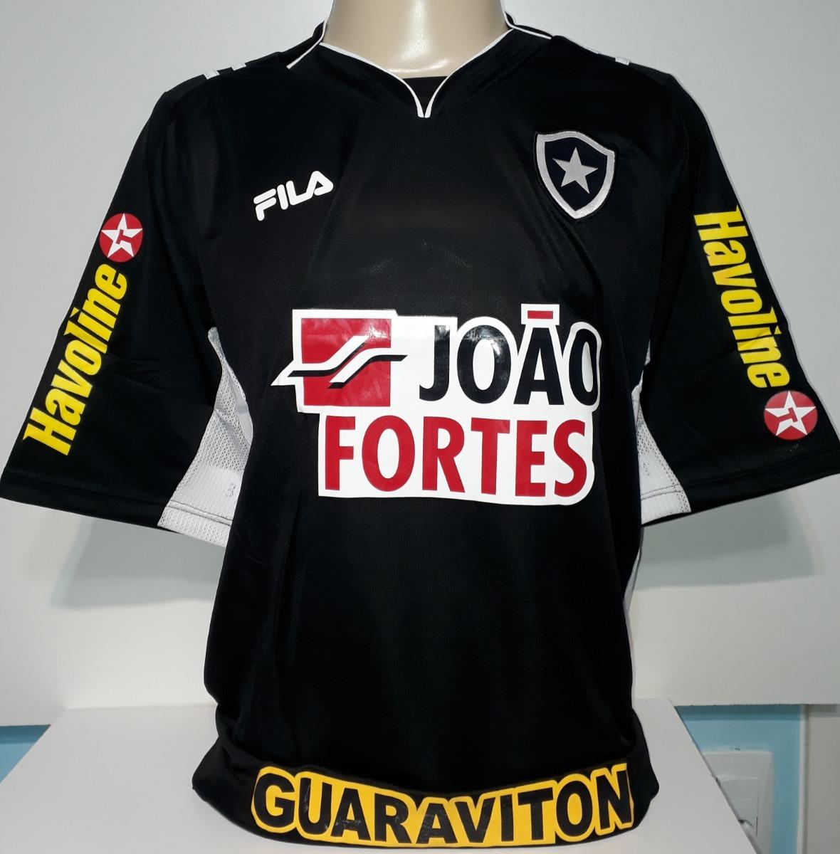 camisa do botafogo 2011 preta fila nova com etiquetas - 19. Carregando zoom. 9609f4025a8a6