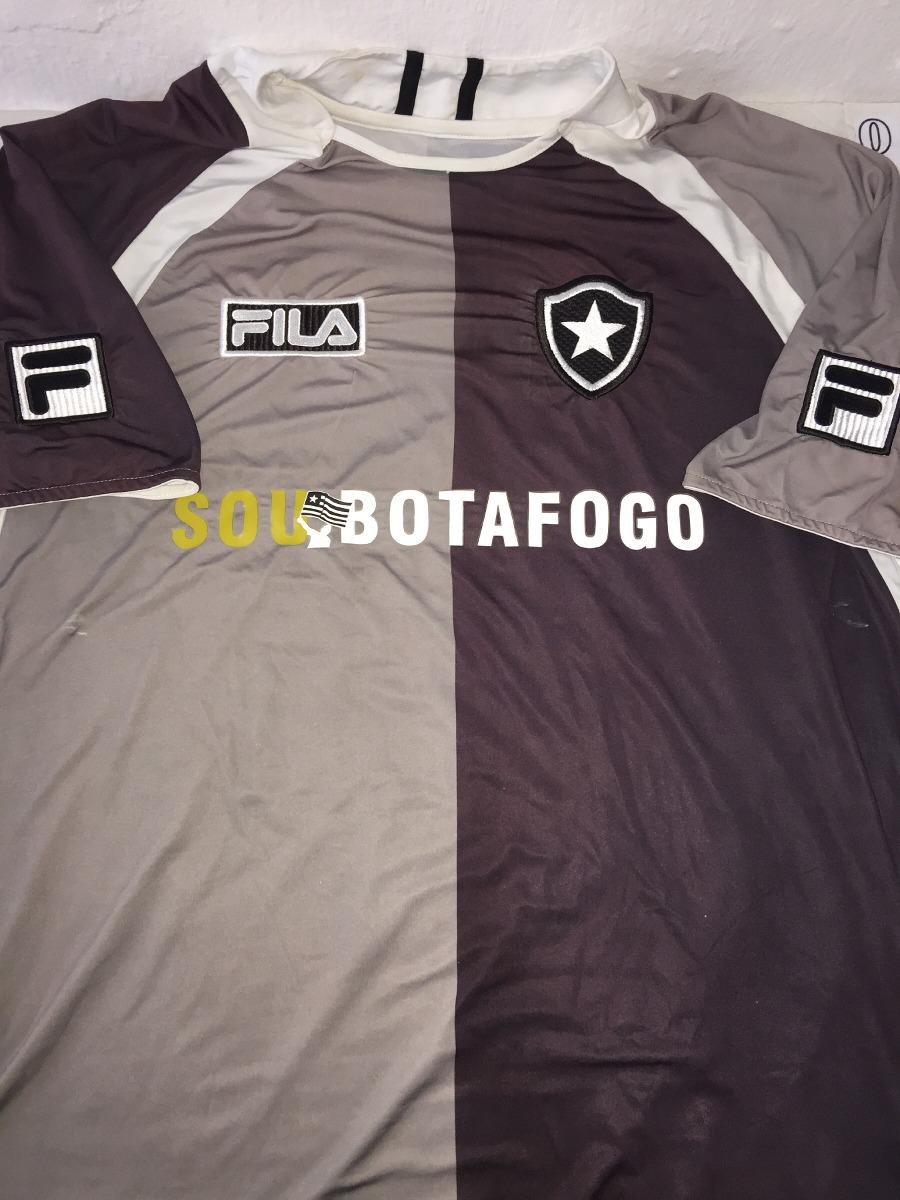 camisa do botafogo fila preta e cinza soubotafogo 9. Carregando zoom. 1c68d27bcdbbe