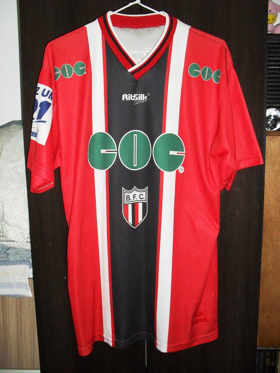Camisa Do Botafogo-sp  10 Ribsilk Tam   g   - R  90 d1628cafad3b4