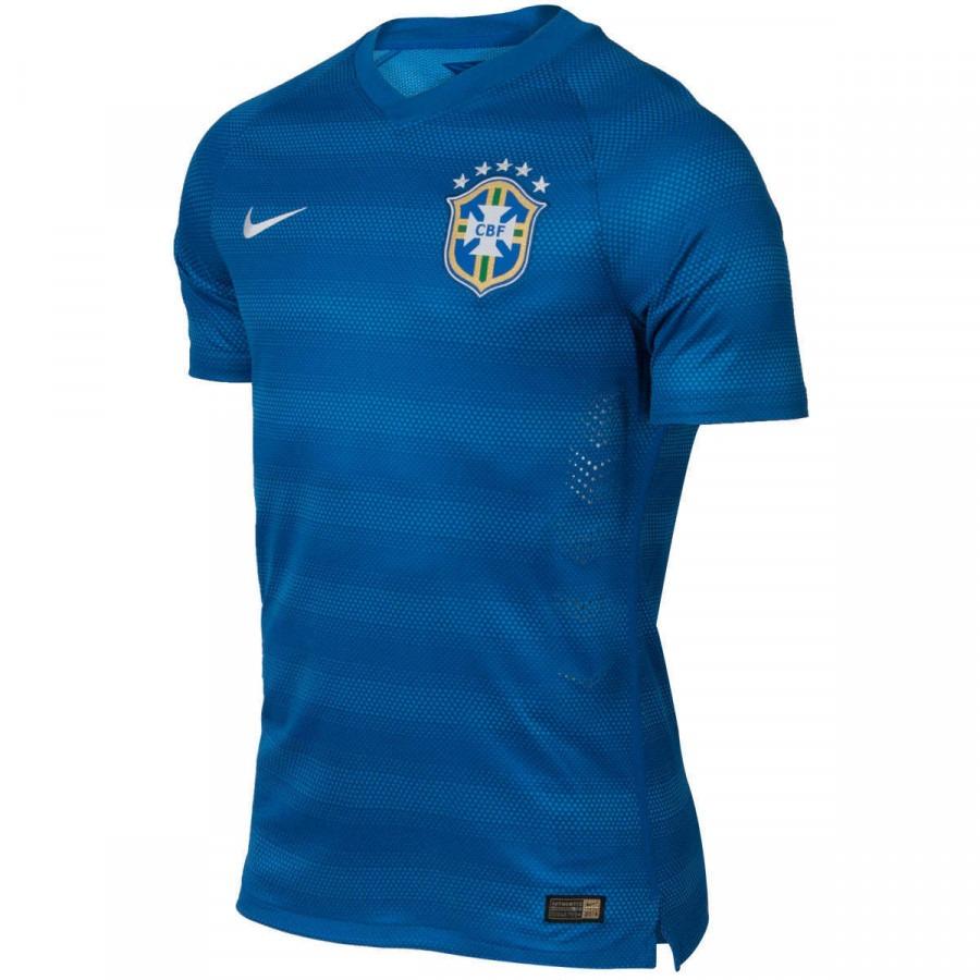 d0a8e09806 camisa do brasil azul nike jogador 2014 masculina original. Carregando zoom.